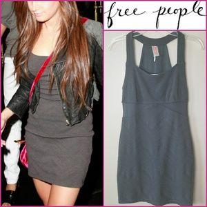 NWT. FREE PEOPLE Zig Zag Body Con Dress!
